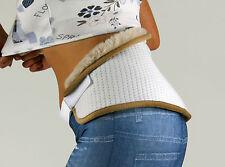 Nierengurt Lama - Nierenwärmer Wärmegürtel Wolle Rücken - Silber - LGL