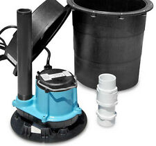 Little Giant WRS-6 Drainosaur Water Removal System, Tank and Pump Combo (506055)