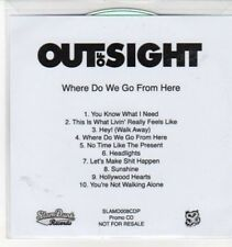 (CC779) Out Of Sight, Where Do We Go From Here - DJ CD