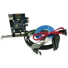 USB 3.0 + Power eSATA + 9 Pin USB2.0 Hybrid PCI-e Card with eSATAp & SATA Cable