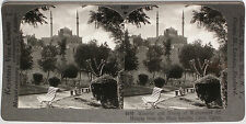 Keystone Stereoview Mohammed Ali Mosque in Cairo, EGYPT From RARE 1200 Card Set