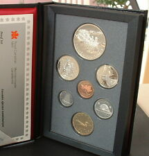 CANADA  1992   PROOF DOUBLE DOLLAR SET  ***7 COINS***