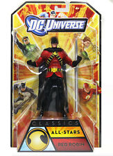 "MATTEL DC Comics Universe legende 6 ""RED ROBIN Figure BOXED RARE BATMAN GIUSTIZIA"