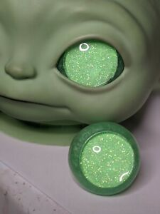 Custom Resin Eyes For Baby Yoda Vinyl Doll 34mm Eyes