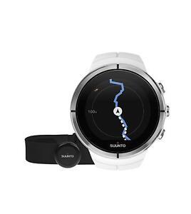 Suunto Unisex Spartan Ultra HRM Multi Sport GPS Watch - White - SS022660000