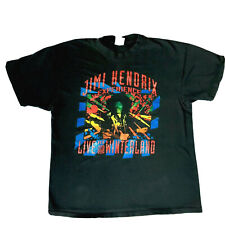 Jimi Hendrix  Live At Winterland Men's XL Black Vintage T Shirt 1990s