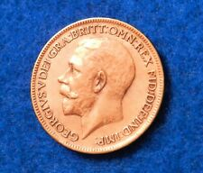 1917 Great Britain Farthing - Fantastic Coin - See PICS