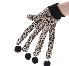 Cute Cat Toys Scratcher Leopard Glove with Lovely Balls Teaser Playing Toy