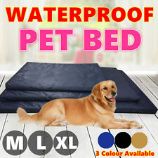 Soft Waterproof Pet Bed Mattress Dog Cat Pad Mat Cushion Pillow Large M L XL