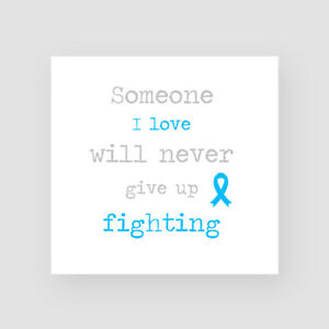 Prostate Cancer Support Card Get Well Soon Sympathy Thinking Of You Chemo