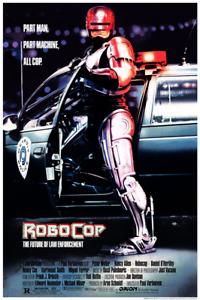 RoboCop (1987) Rare Screen-Printed Poster by Mike Bryan
