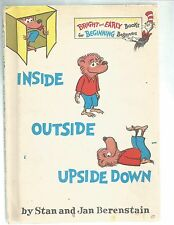 THE BERENSTAINS BEARS, [1968,hardcover] by Stanley and Janice Berenstain, (Used]