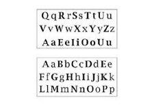 Adesivi Murali Lettere Alfabeto Maiuscole Minuscole Wall Decor Stickers nuovo