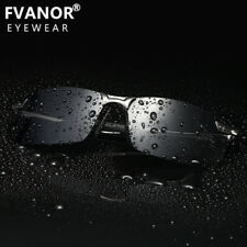 2018 Mens HD Polarized Sunglasses Mirrored Driving Glasses UV400 Sports Eyewear