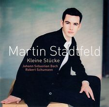 MARTIN STADTFELD : KLEINE STÜCKE, BACH - SCHUMANN / CD - TOP-ZUSTAND