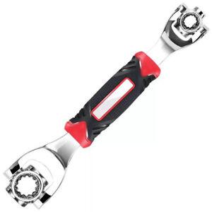 Multi-fonction 52-en-1 clé à douille Tiger Clé à os pour chien Clé rotative 360°