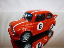 SOLIDO FIAT 600 ABARTH 1970 No 6 - RED 1:43 - GOOD CONDITION