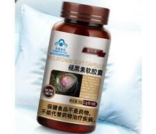 1x Melatonin Soft Capsule 500mg*60 Capsules Support Better Sleep Quality