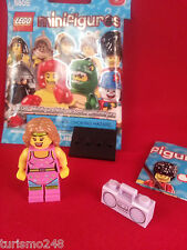 Lego Minifigure Series 5 Fitness Instructor with Boom Box!