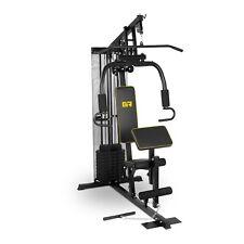 Fitness Gerät Multi Kraftstation Hantel Bank Gewichten Home Gym Workout Übungen