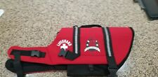 Paws Aboard Dog Life Preserver - Sz Large - Red