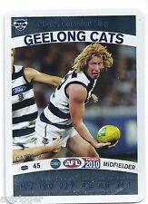 2010 Teamcoach Captain Prize Card (CP- 07) Cameron LING Geelong