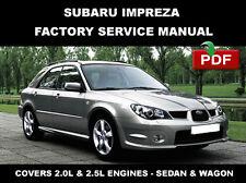 car truck repair manuals literature for subaru ebay rh ebay com 2006 subaru impreza factory service manual 2006 subaru impreza shop manual