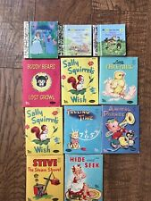 Whitman Tiny Tales and Little Little Golden Books Children Books Vintage Lot