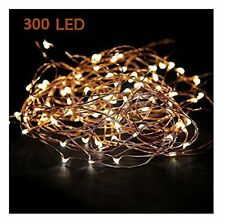Super Long 100 Feet 300 led Starry String Lights Garland Wedding Christmas