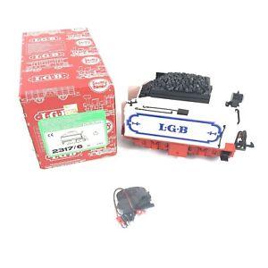 LGB 2317/6 Motorized Tender w/ Rear Lantern Light G Scale