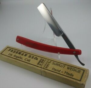 "Vintage ""Surkut"" Hand Made Wedge Straight Razor (Shave Ready)"