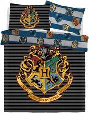 Harry Potter Diseño Reversible Hogwarts Crest Doble Conjunto de Funda Nórdica