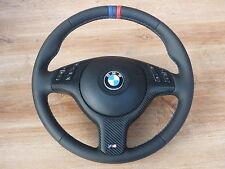 volante de cuero BMW E46 E39 Z3 M POWER CON ABERTURA Multifuncional y AIRBAG