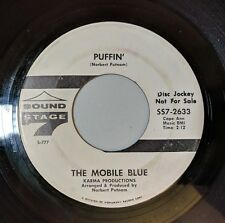 The Mobile Blue: Puffin / Snips 45 Sound Stage 7 Promo FUNK VG