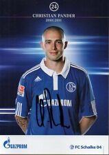 Autogramm - Christian Pander (FC Schalke 04) - 2010/2011