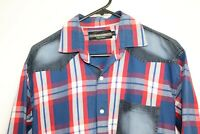 Zara Men's Long Sleeve Check Shirt Size L