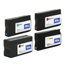 4 Pack 950XL 951XL 950 XL Ink Cartridges for HP Officejet Pro 8610 8600 8625
