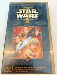 STAR WARS - THE PHANTOM MENACE - VHS - PREOWNED