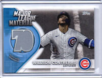 Wilson Contreras Cubs 2021 Topps Series 1 Major League Material Jersey MLM-WC