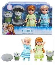 DISNEY FROZEN Petite Surprise Anna Elsa & Trolls Set