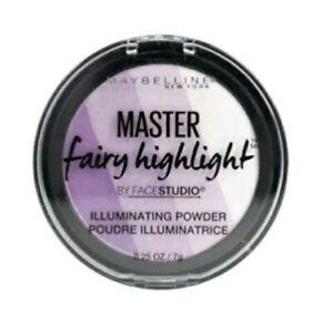 MAYBELLINE ILLUMINATING POWDER  MASTER FAIRY HIGHLIGHT #200 PURPLE