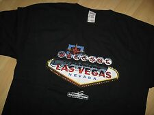 Southwest Airlines Tee - Las Vegas Nevada USA Rewards Airplane Black T Shirt XLg