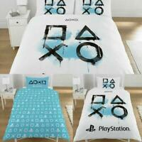 Sony Playstation Single Double King Size Duvet Quilt Cover Set Boys Kids Bedding