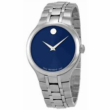 Movado 0606369 Men's Collection Silver-Tone Quartz Watch