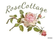 VinTaGe IMaGe XXL RoSe CoTTaGe SiGN ShaBby WaTerSLiDe DeCAL ~FuRniTuRe SizE~