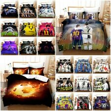 Cristiano Ronaldo Messi Football Bedding Set 2/3PCS Duvet Cover&Pillowcase(s)