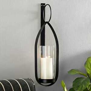 Industrial designed Metal Teardrop Sconce, 21 inches. Charming  Home Décor