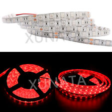 Waterproof 5M White 5050 SMD LEDs Strip Light Tape XMAS Kitchen Cabinet Ceiling