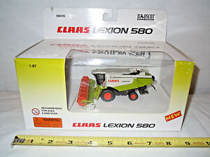 Claas Lexion 580 Combine With Grain Head   By Norscot  1/87th Scale  !