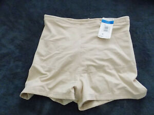 Flexees Womens Tan Nude shapewear Shorts Panties Size XL NWT